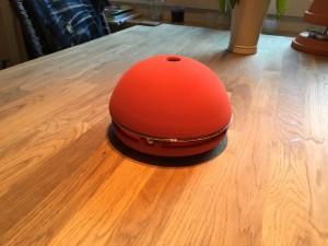 Egloo – Teelichtofen in Rot