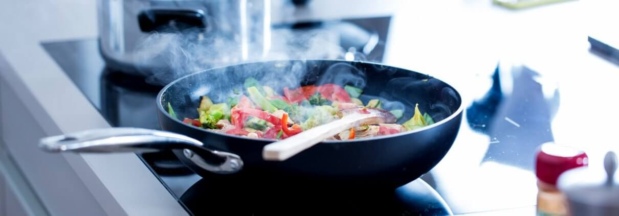 Strom sparen kochen